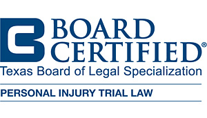 Texas Board Certified Personal Injury Trial Law