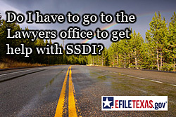 Apply for SSDI from home