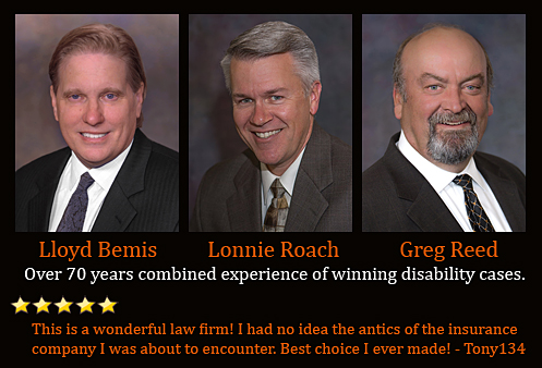 70 years combined experience in disability law.