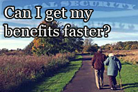 Can I get my SSDI benfits faster?