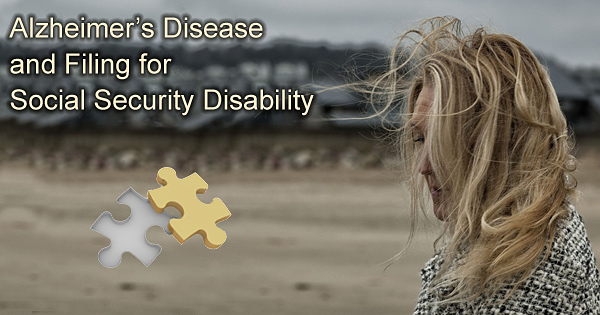 alzheimers disability