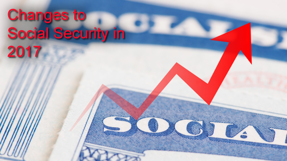 Social Security changes 2017