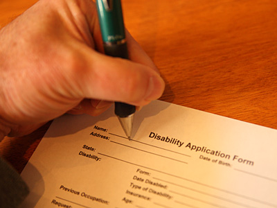 Disability application assistance