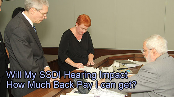 Disability Hearing back pay