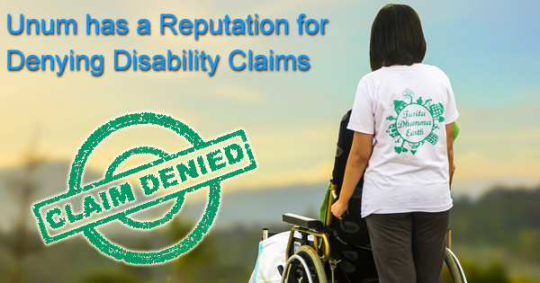 Unum DIsability Claim