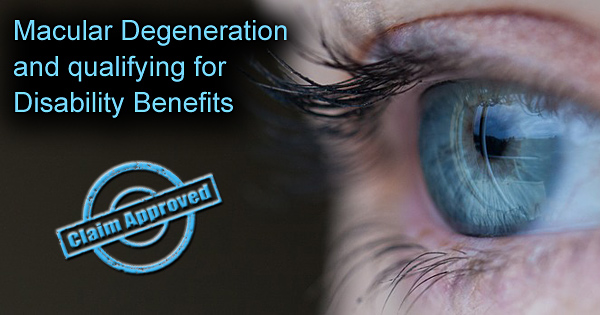 Macular Degeneration Disability